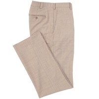Men Solid Flat Front Trouser Pants Hart Schaffner Marx The Top Selling HVLNQGH