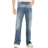 Men's Craig Stretch Easy Fit Bootcut Faded Wash Jeans Silver Jeans Co. Style Near Me CSDQTKA