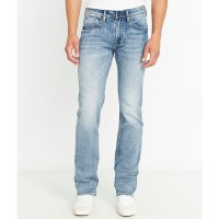 Men's Driven-X Light Wash Relaxed Straight Jeans Buffalo David Bitton 38 x 36 sale online RMEUYYX